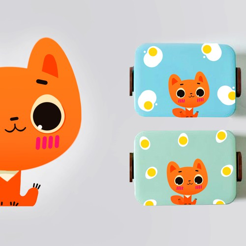 Character design for kids lunchboxes