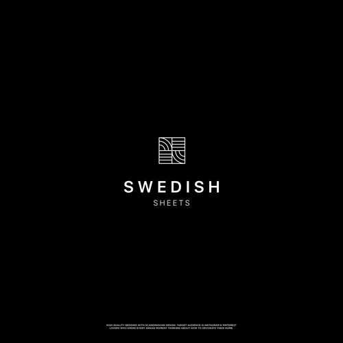 Minimalist Logo for a Swedish interior brand