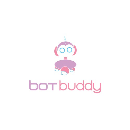 Logo concept for chat bot
