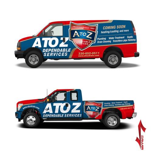 Van And Truck wrap