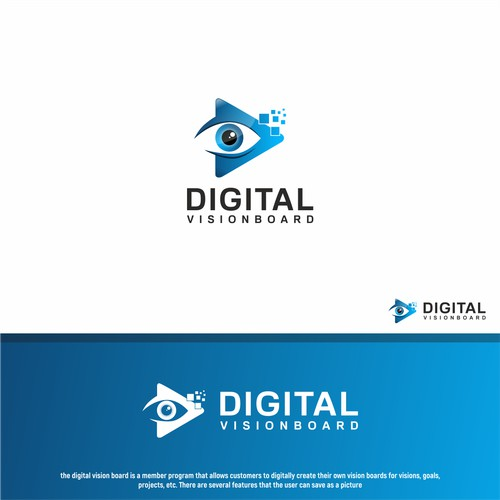 Create us great logos for our digital vision board.