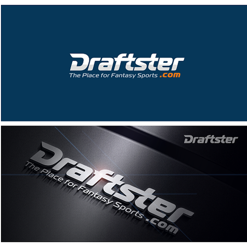 Draftster Logo Design