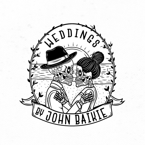 Illustrated logo for Wedding Photographer