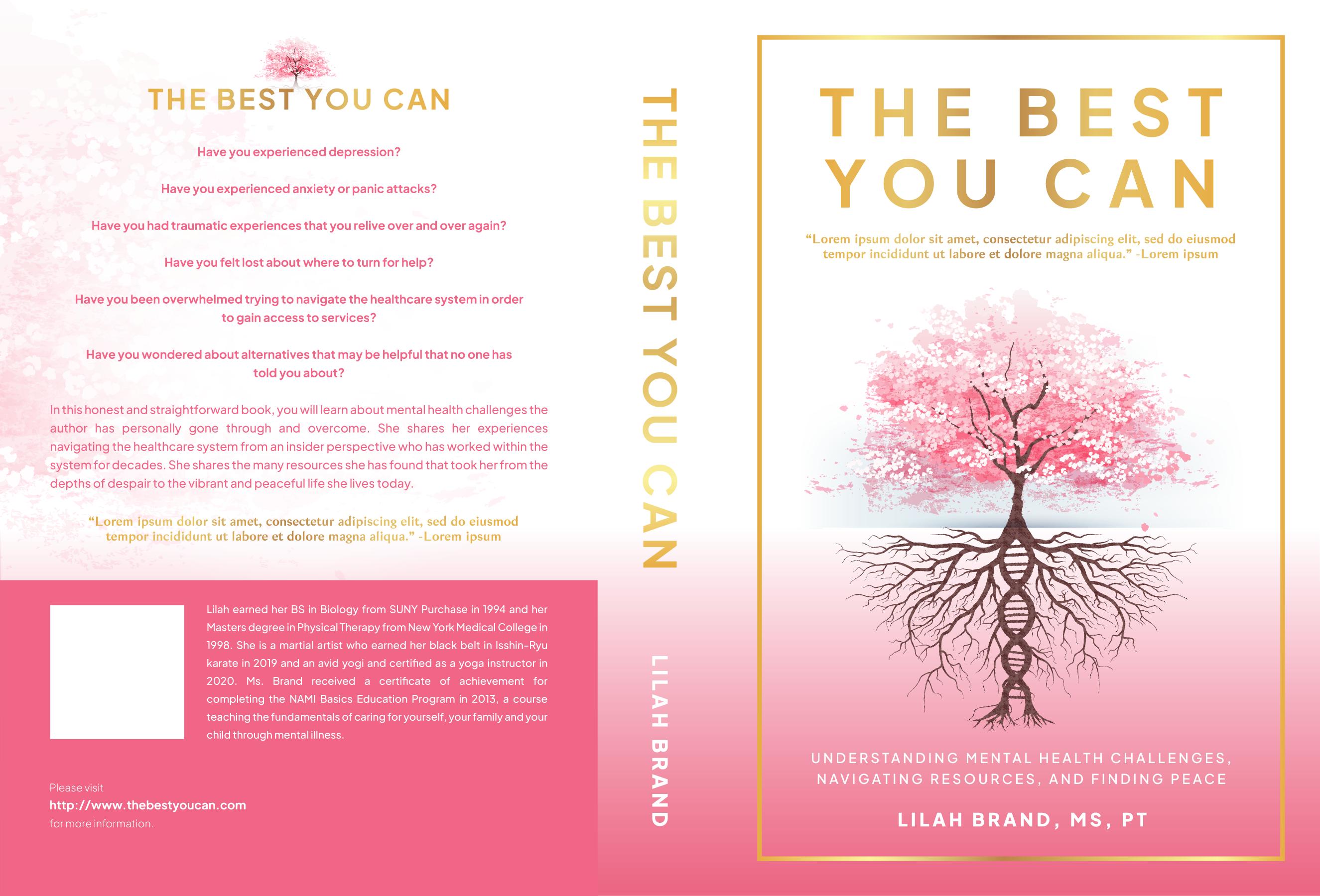 Book cover design to help combat mental illness