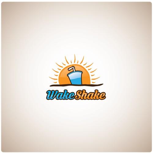 WakeShake Logo Winning Concept