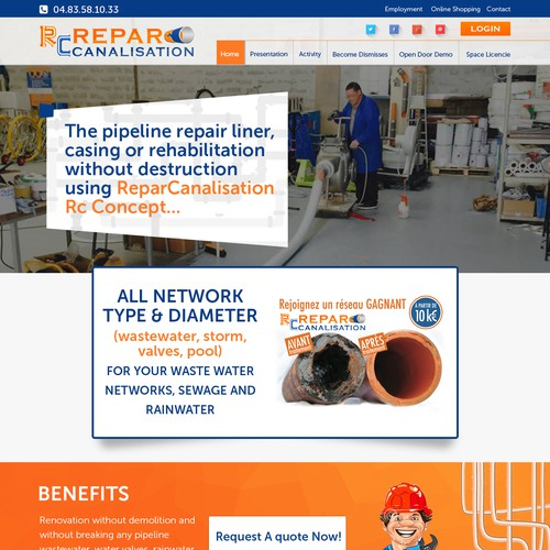 Web Page - Repair
