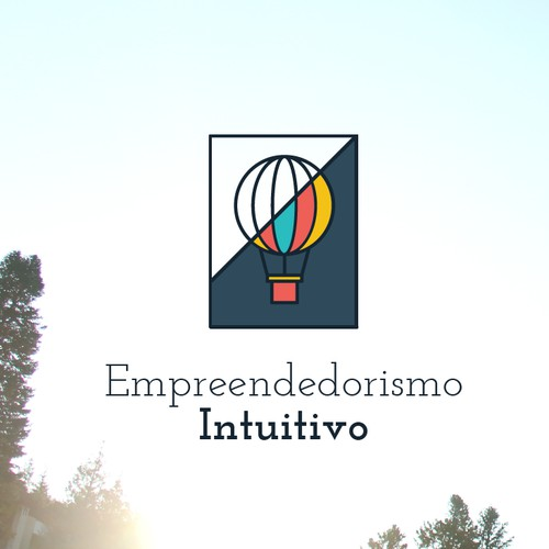 Modern logo concept for entrepreneurism website
