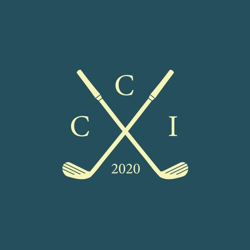 Classic logo for a golf tournament