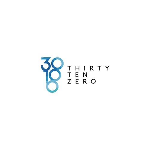 "Bold logo concept for ""ThirtyTenZero"""