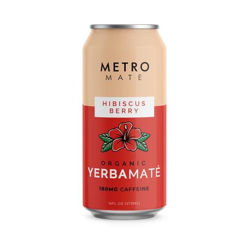 Metro Mate Caffeine Drink