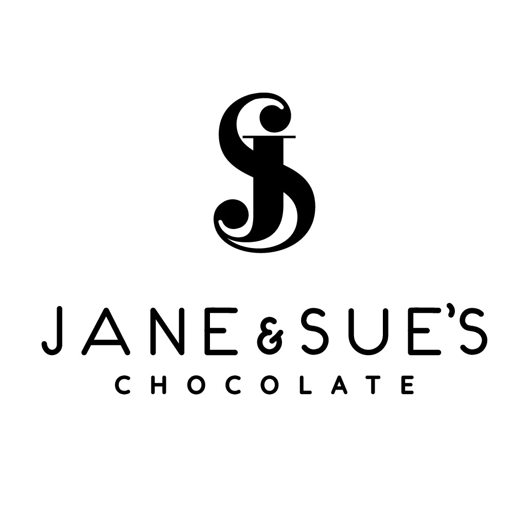 Can you design a simple edgy logo that people will associate with happiness and fine chocolate?