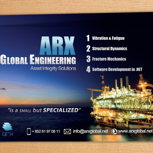 Create a flyer for technology consulting company