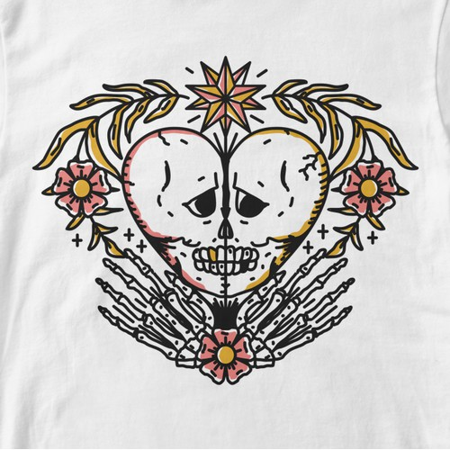 Streetwear Tattoo inspired Tshirt