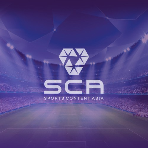 Logo & Jimdo Website for Sports Content Asia