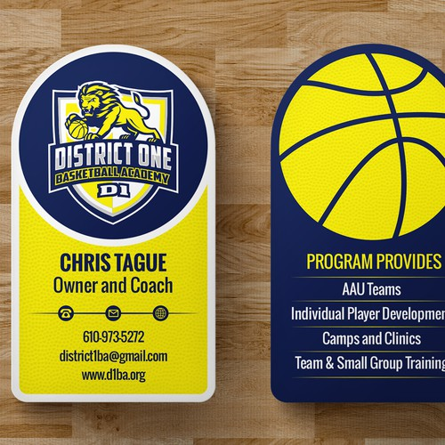 Business Card that screams - Call Us!