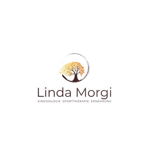 Linda morgi logo design