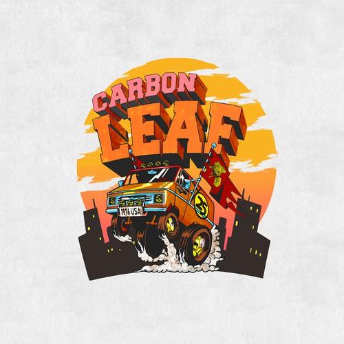 CarbonLeaf T-shirt print