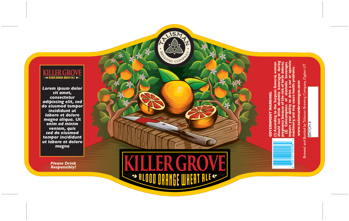 Honey Wheat with Blood Orange-Killer Grove