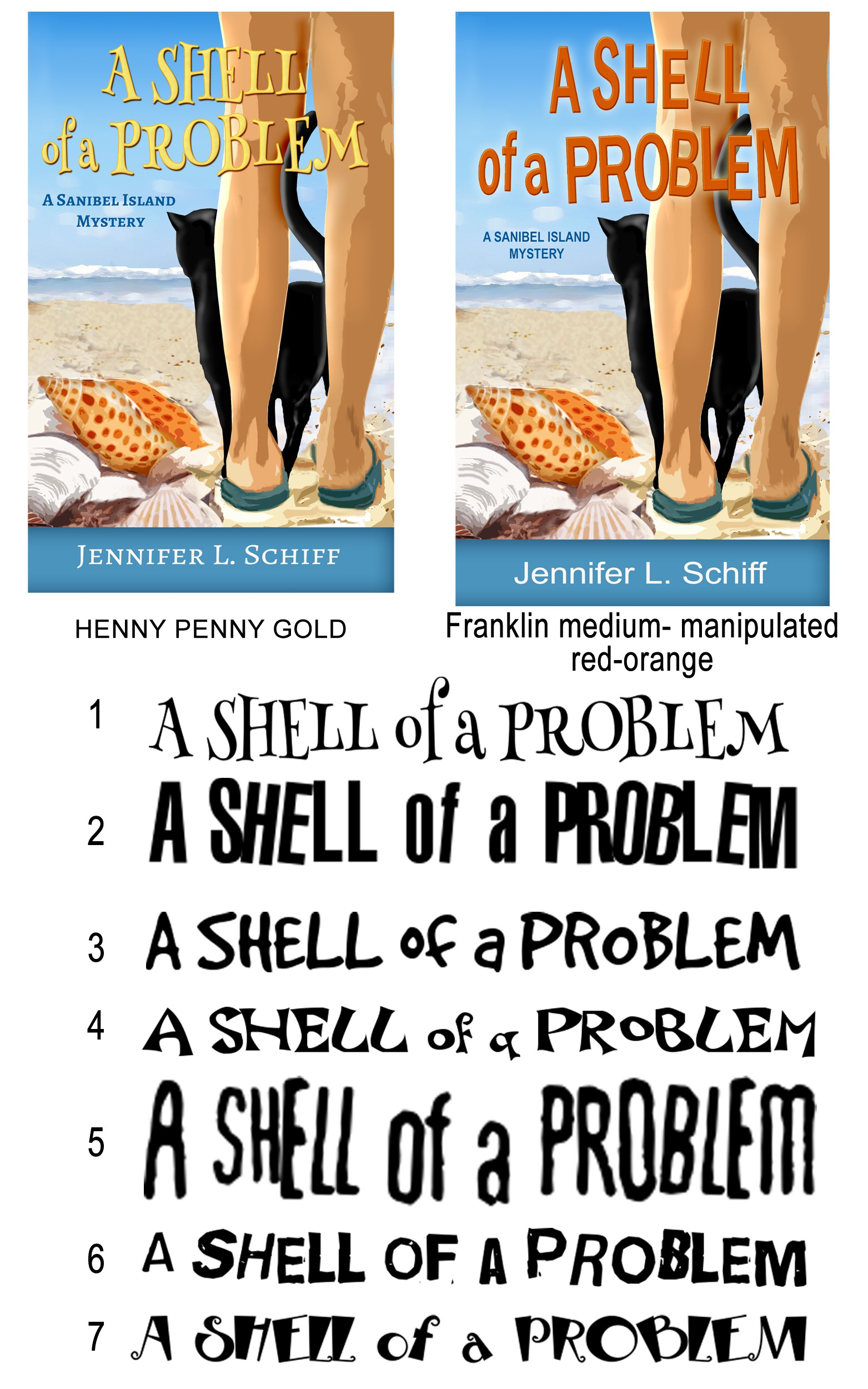 Beach-themed cozy mystery cover design (paperback + ebook)