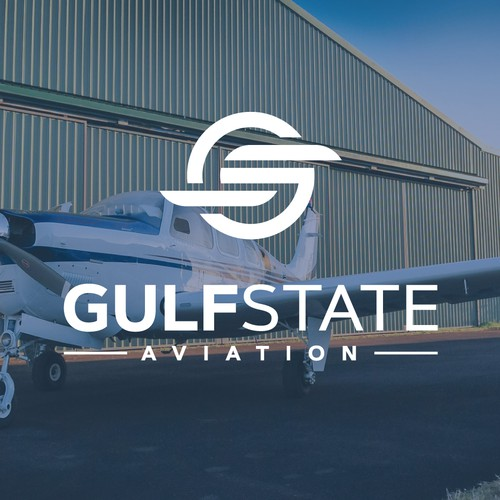 Logo design for Gulf State Aviation