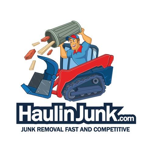 Haulin Junk logo redesign