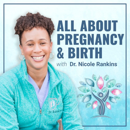 Podcast Cover Art For A Top Pregnancy & Birth Podcast