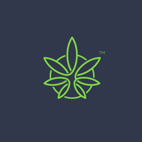 Marijuana Abstract Mark