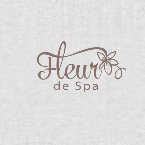 Logo design for spa business
