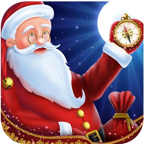 Design App Icon for Santa Tracking iPhone App