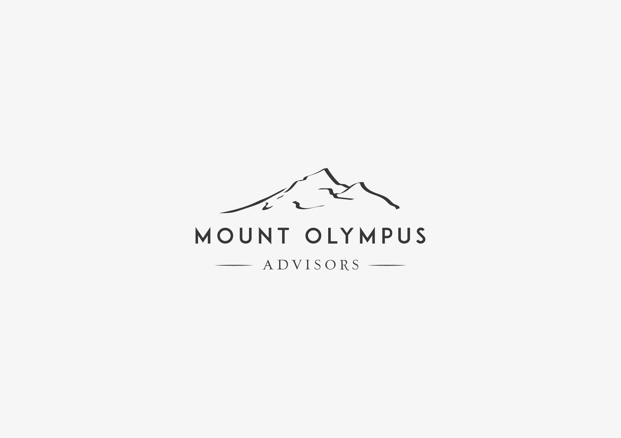 Attractive design of mountain landscape to appeal to professionals
