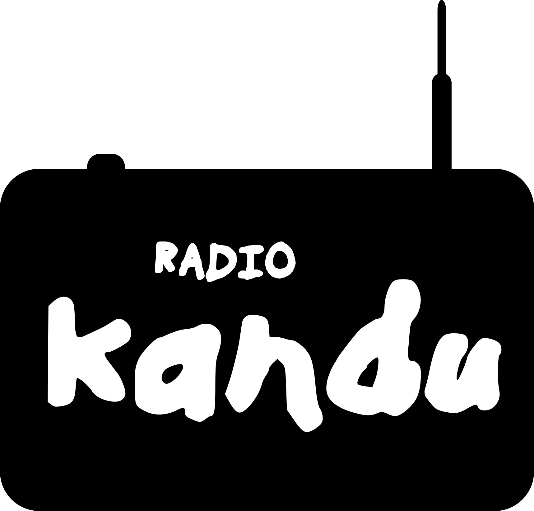 Please design a soulful, eclectic logo for my new Online Radio Station! KANDU RADIO