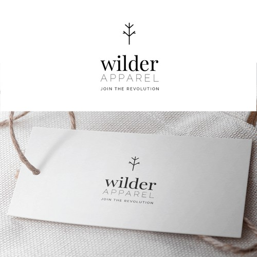 Concept Logo Design for Wilder Apparel