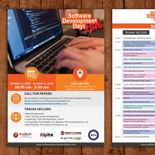 Design for Software Development Days 2016