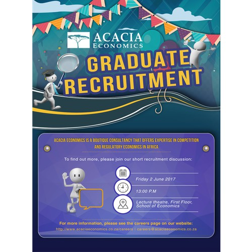 Poster for recruitment