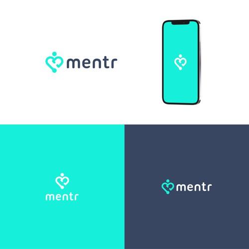 Mentr Logo Design