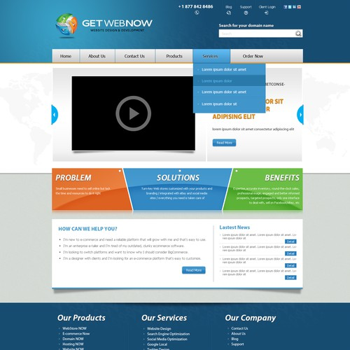 GetWebNow.ca Website Design