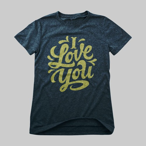 Typographic Love Shirt!