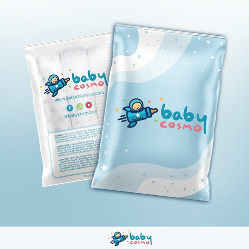 BabyCosmo Vinyl Bag Design