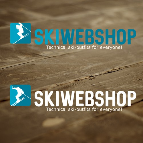 Logo for a ski webshop