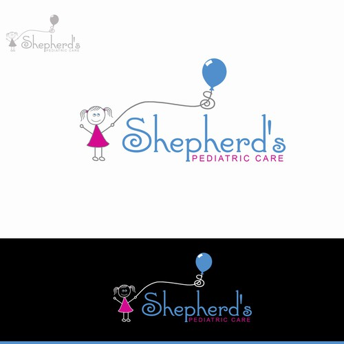 Logo concept for pediatric office