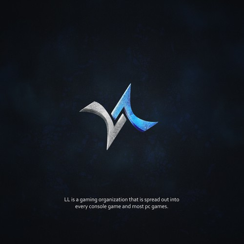 Bold logo for gaming indistry