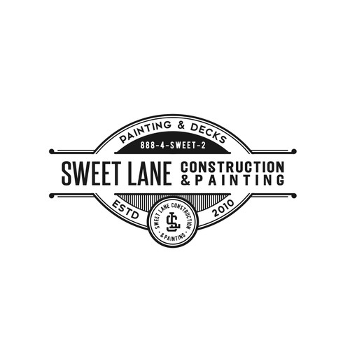 Vintage Logo for Construction company