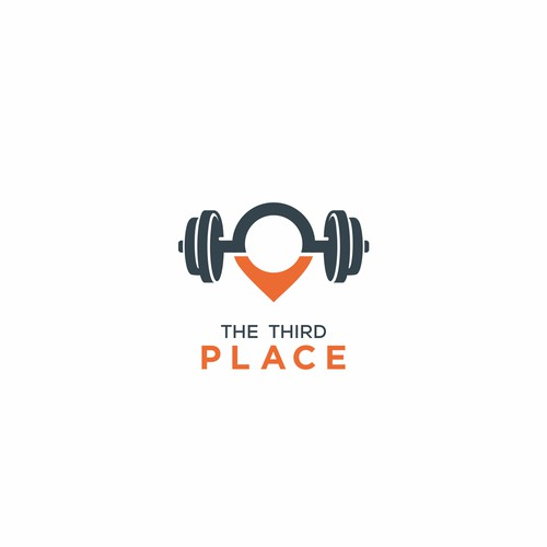 logo combination of place and fitness