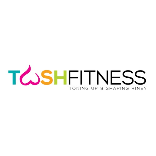 Design a fun logo for a butt-centric fitness company!