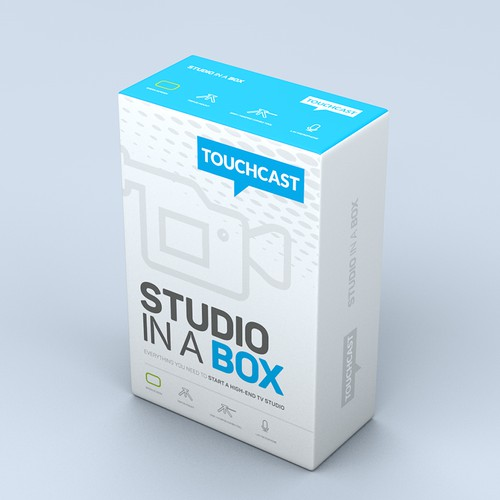 Studio In A Box Packaging Concept