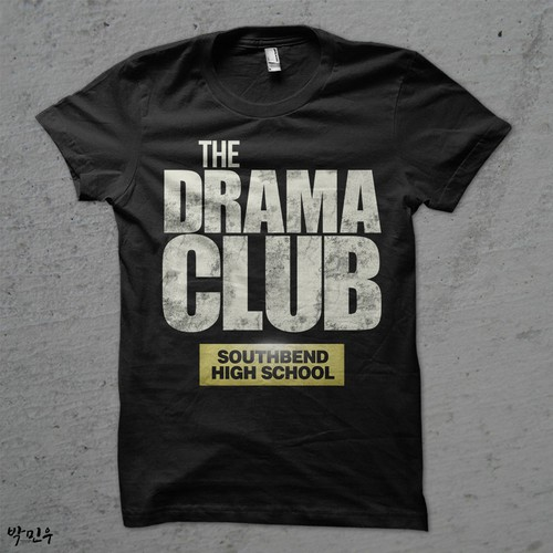 The Walking Dead Shirt Parody for Drama Club