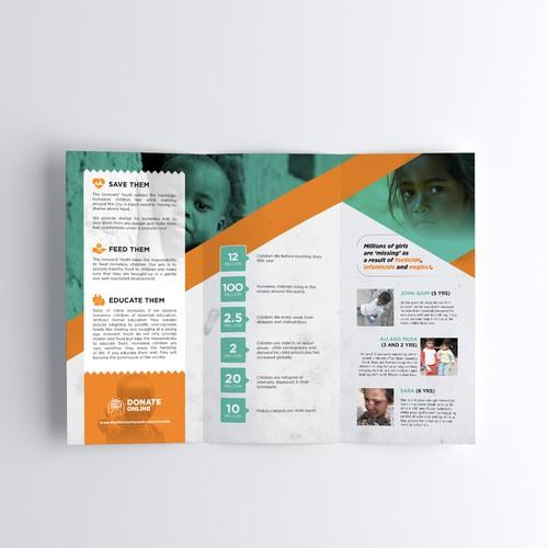 Brochure design help us help others