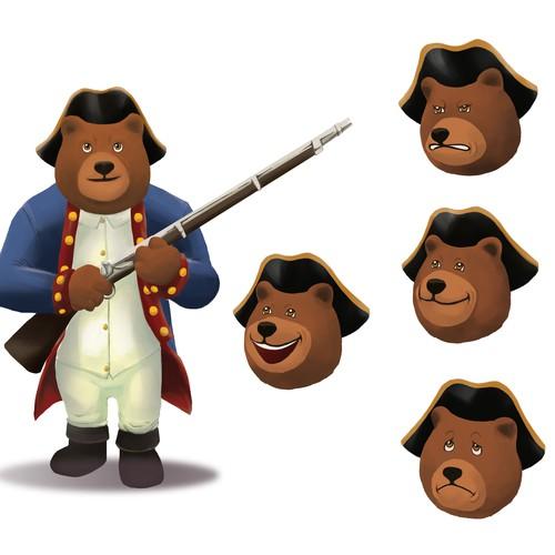Teddy bear character