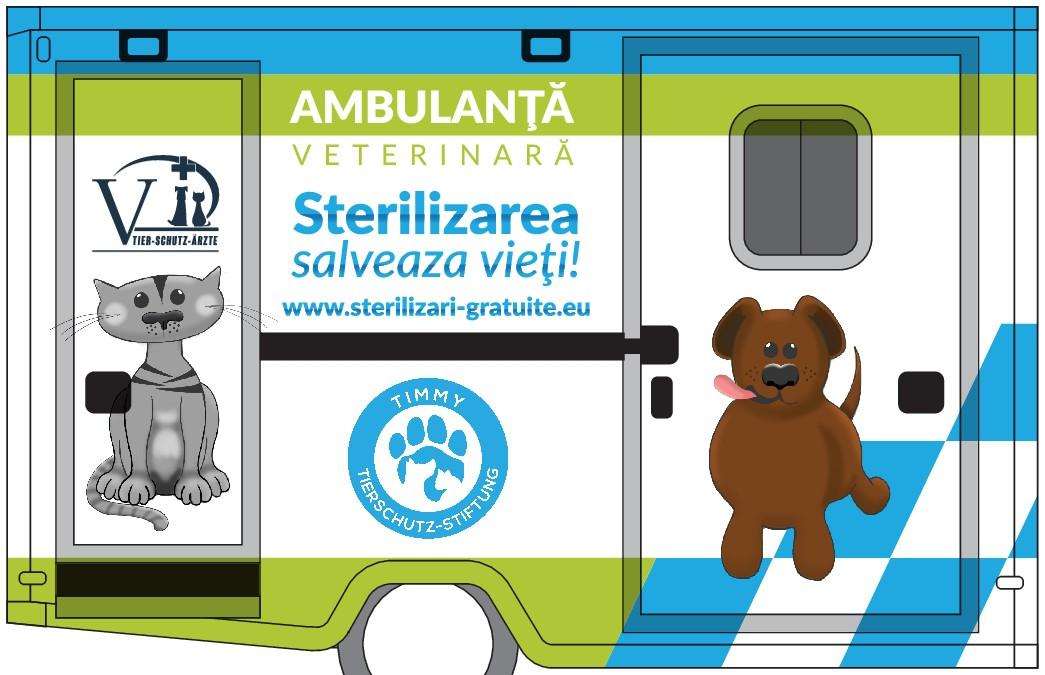 Gestalte ein Tierarzt-Mobil/ Design a vet-mobile