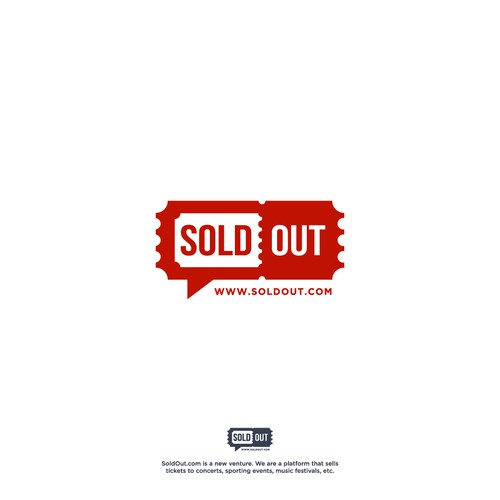 Online ticket design for SoldOut